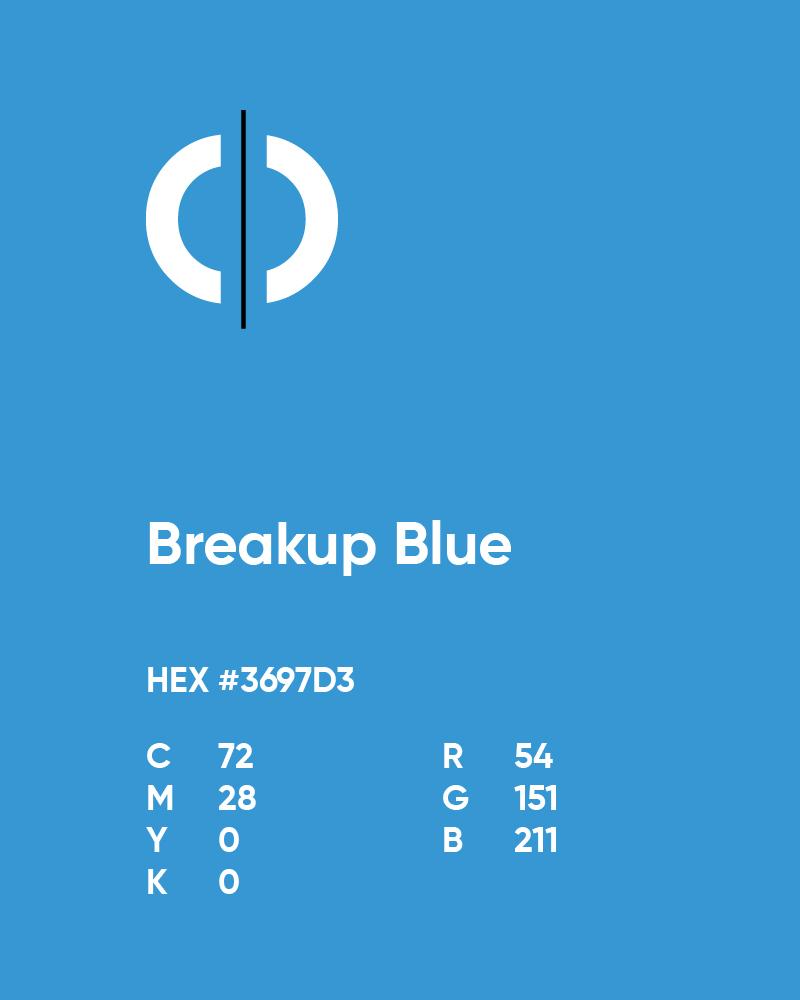 OurDivorce blue color